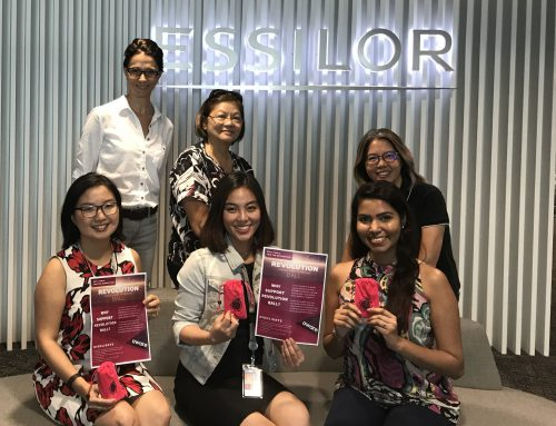Developing Essilor corporate talent while restructuring AWARE's human resources